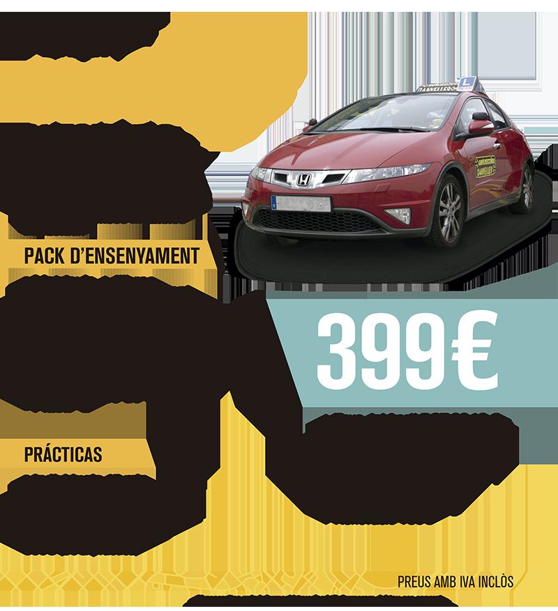 COTXE - CLASSE B AUTOMÀTIC